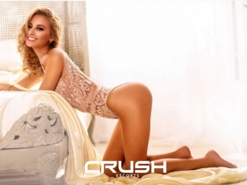 Imogen From Crush Escorts Wearing Pink Lingerie